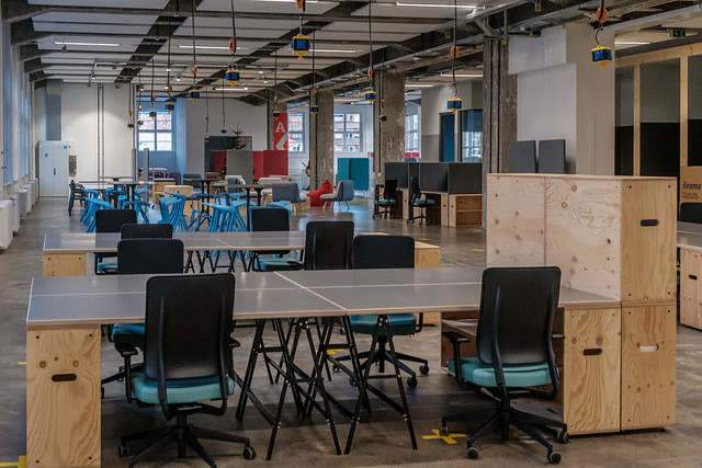 Co-Working Space Arbeitsbereich