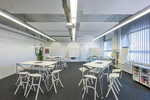 Design Thinking Lab als klassische Kreativumgebung