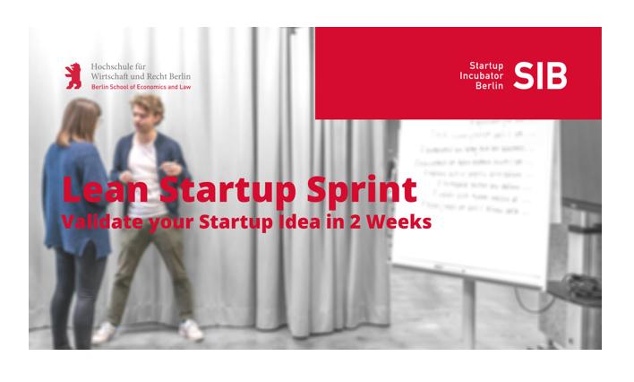 Lean Startup Sprint